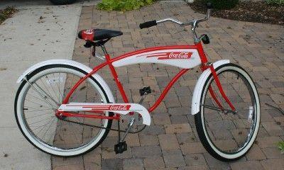 Coca Cola Coke Vintage 1980?s Huffy Promotional Bicycle Bike Coke