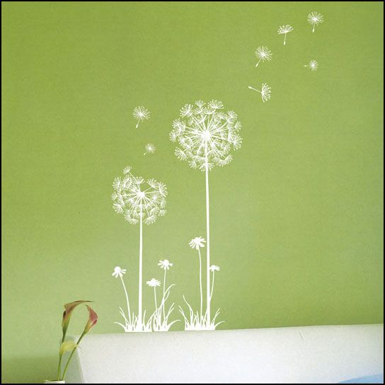 DANDELION FLOWER Decor Wall Art Sticker Decal 226
