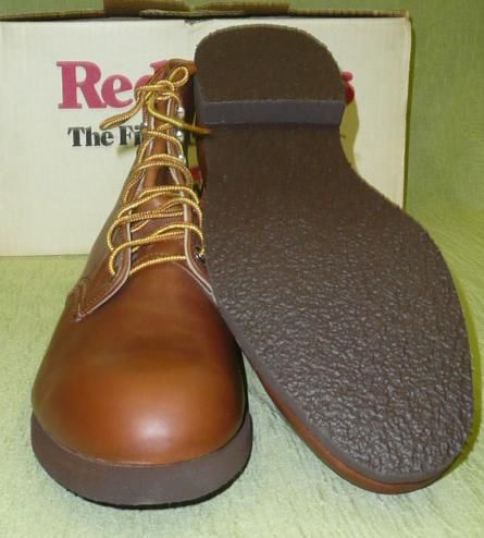 New Mens Red Wing 21226 Made USA Leather Work Boots Shoes Vtg 90s 2000