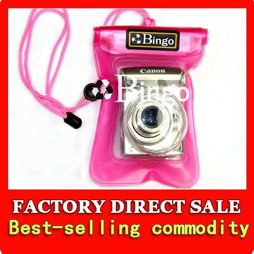 Waterproof Under Water Digital Camera Case Dry Bag 20M