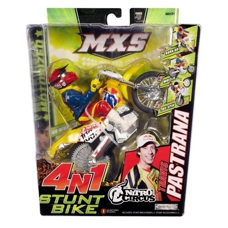 Travis Pastrana MXS Stunt Dirt Bike Toys