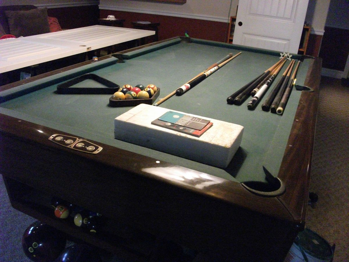 Brunswick Dunham Pool Table - Brunswick dunham pool table