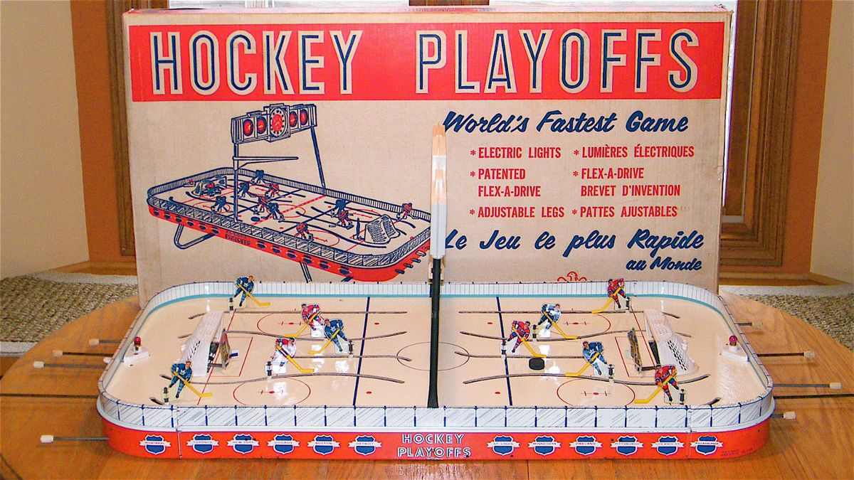 Eagle NHL Playoffs Stanley Cup Like 5330 Tin Table Top Hockey Game
