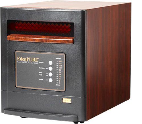 New Edenpure GEN4 Infrared Quartz Portable Space Heater Gen 4 A4643