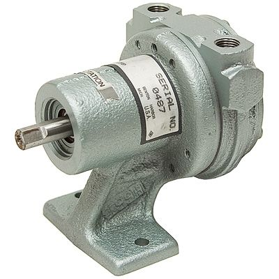 CFM Gast 0533 U107 Rotary Vane Vacuum Pump 4 1808
