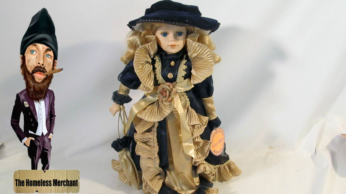 Porcelain Doll Emerald Doll Collection 2001 Edition Carrie Item 16030