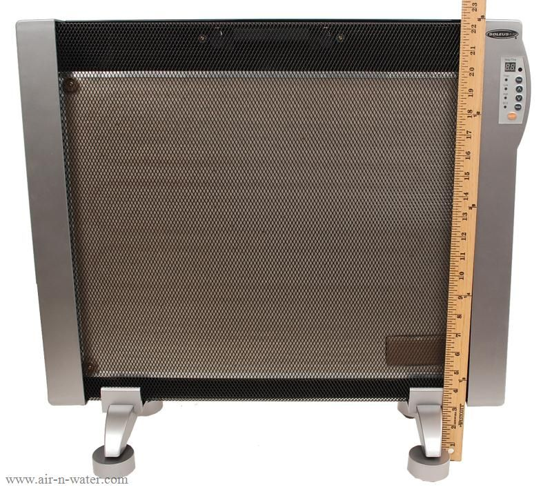Portable Wall Mounted Electric Micathermic Space Heater 1500 W