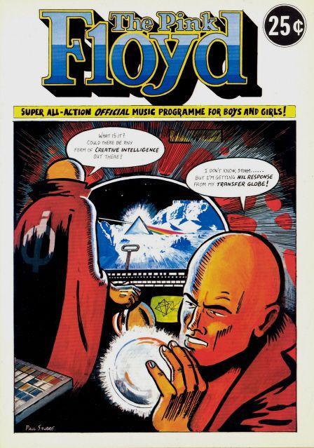 PINK FLOYD 1975 WISH YOU WERE HERE TOUR U.S. CONCERT PROGRAM BOOK