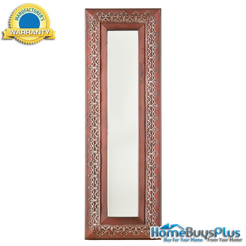 decorative wall and accent mirror full length and beautiful complete