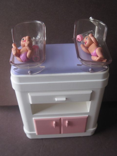 Happy Family Barbie Baby Newborn Furniture Used
