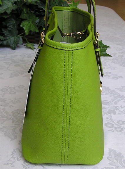 Michael Kors Jet Set Travel Leather Small Tote Bag Purse