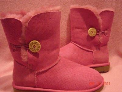 Bailey Button Perf Women Boots Fruit Punch Sz 6 9