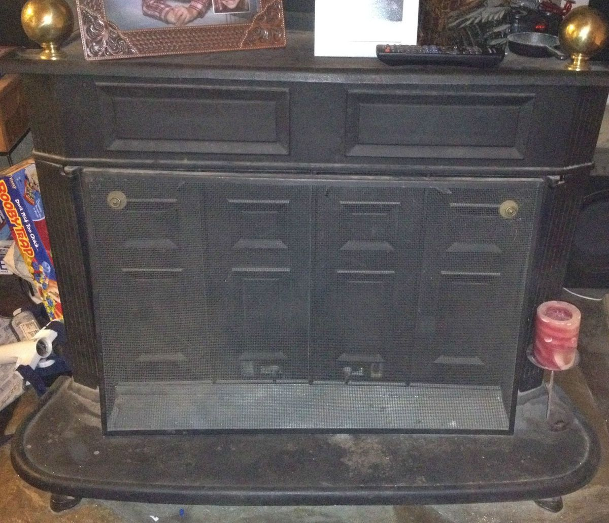 Montgomery Wards Franklin Wood Stove VMT 21017R