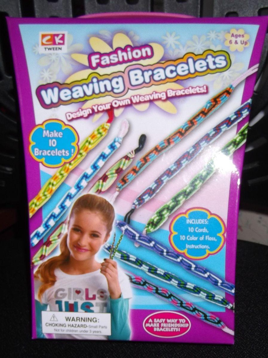 WEAVING BRACELETS Make Your Own Craft Kit *NEW* Friendship Bracelets