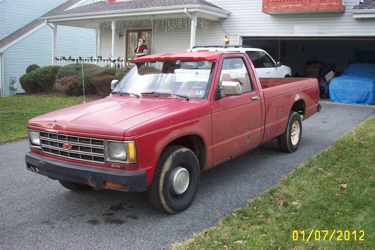 1985 Chevy S10 GMC S15 Pickup Truck 4 Speed 147K