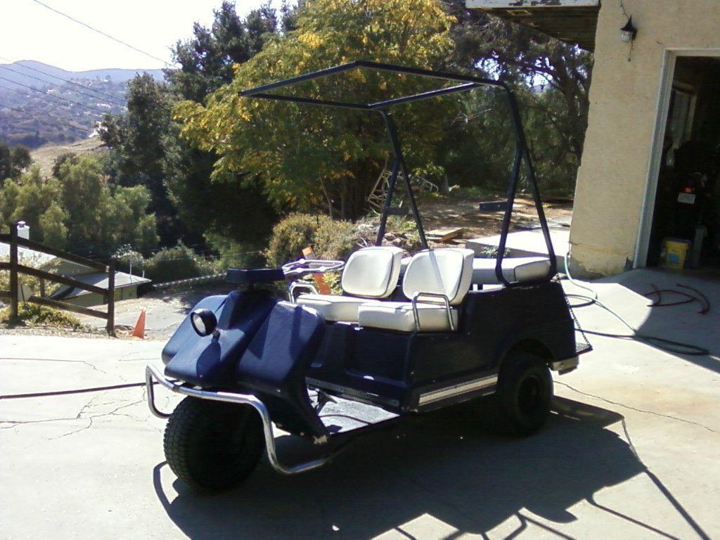 Harley Davidson Golf Cart
