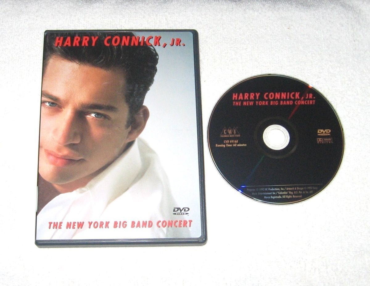 HARRY CONNICK, JR The New York BIG BAND Concert DISC in NEAR MINT