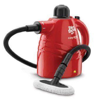Dirt Devil Steam Cleaner Handheld Steamer Light Weight Attachments