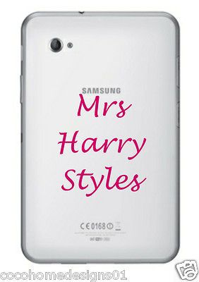1D MRS HARRY STYLES ONE DIRECTION LAPTOP/IPAD/TA BLET STICKER IN 20