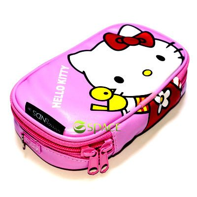 Hello Kitty Game Pouch Case Bag for Nintendo DSi DS Lite NDSi Pink New