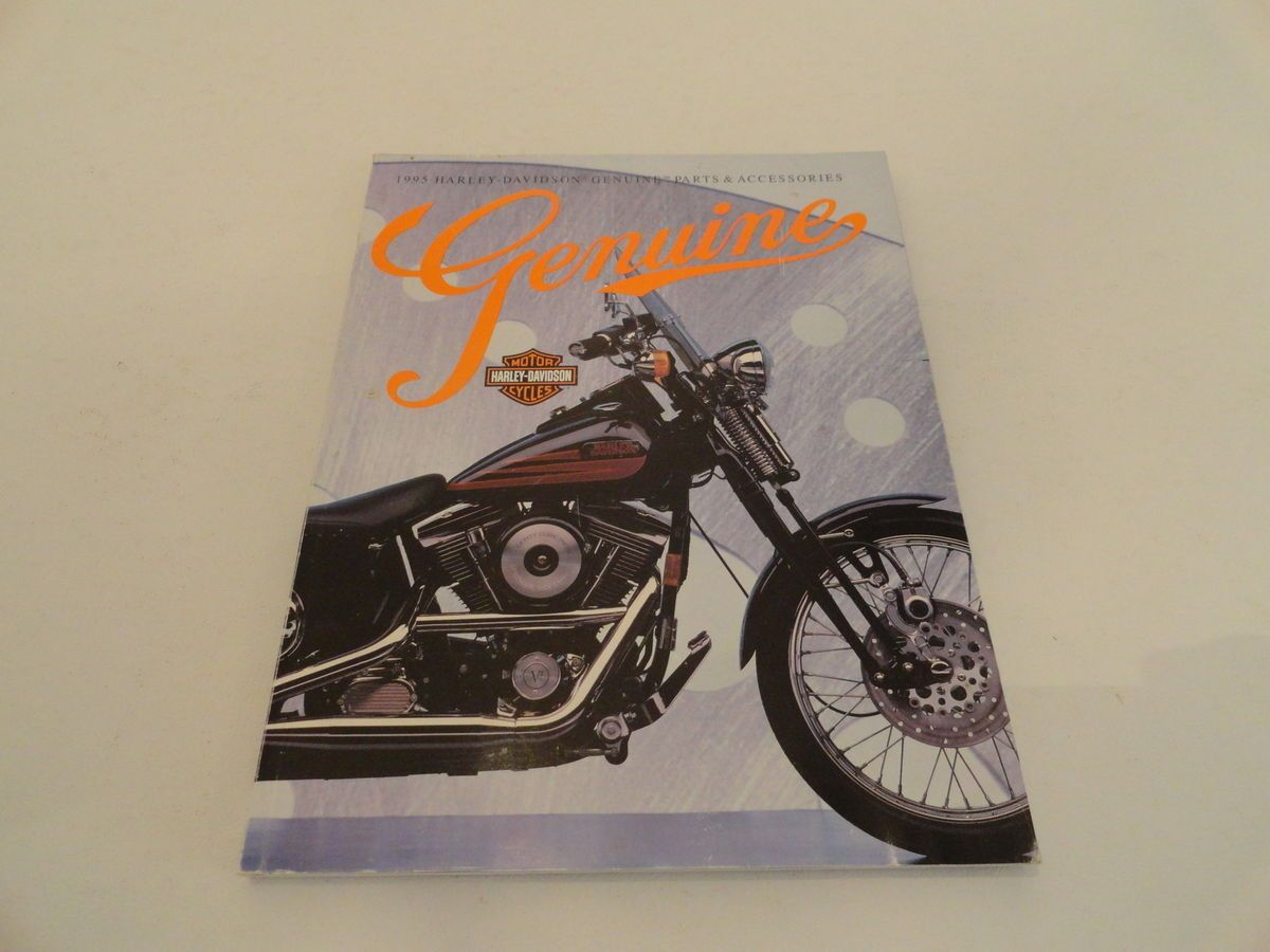 1995 HARLEY DAVIDSON Genuine Parts Accessories Motorcycle Catalog