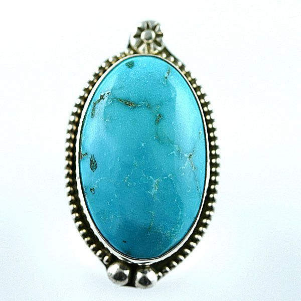 Native American Jewelry Sleeping Beauty Turquoise Ring 9