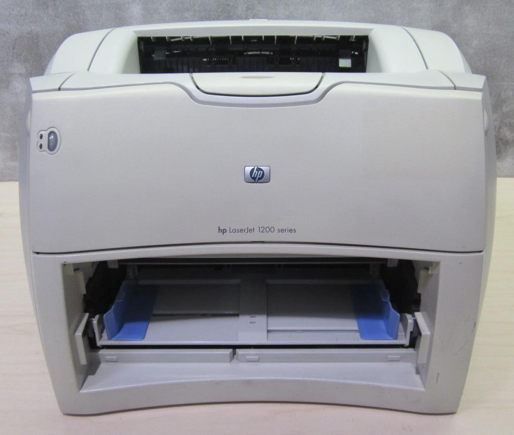HP LaserJet 1200 Workgroup Laser Printer C7044A No Toner