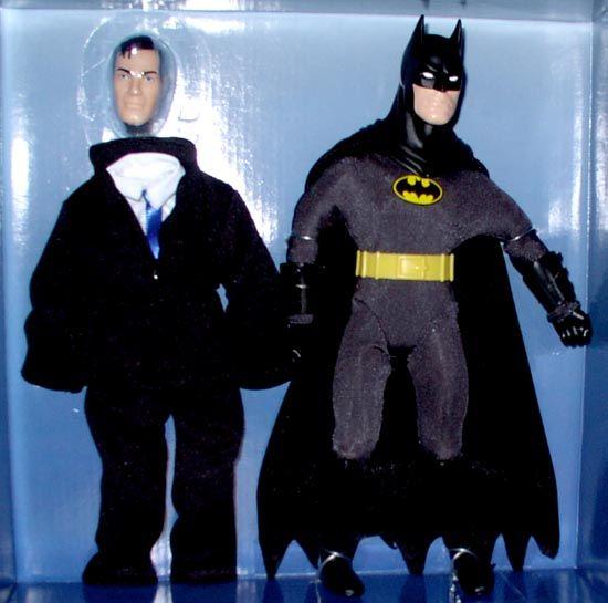Hasbro Action Figure Batman Mego Style RARE Doll Variant Black Cowl