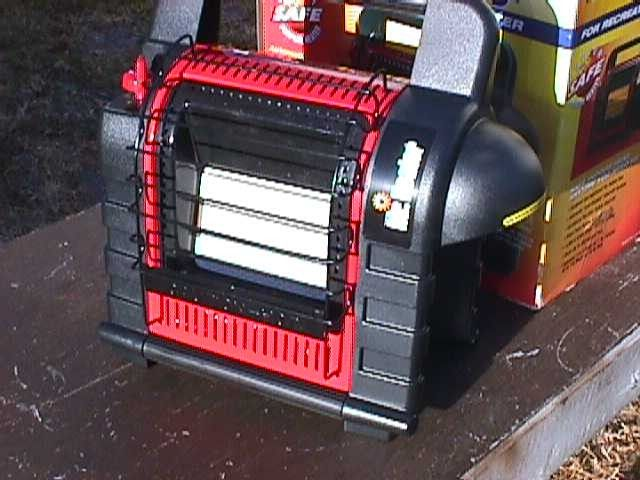 Mr Heater Buddy Portable Indoor Safe Propane Heater 100 Money Back