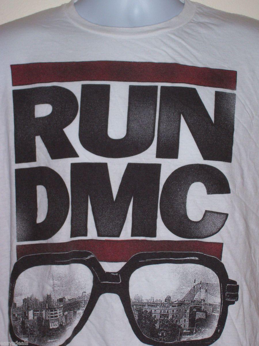 Shirt Rev Run DMC Jam Master Jay Rap Hip Hop Def Jam MC DJ