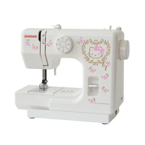 Hello Kitty Janome Sewing Machine KT 35 New Sanrio Japan Manual