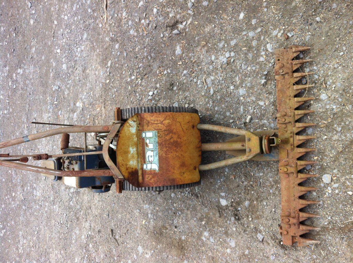 Jari Sickle Bar Mower for Parts or Repair