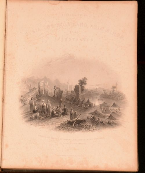 The Holy Land Asia Minor Illustrated John Carne First Edition