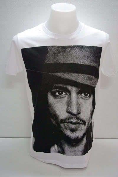 Johnny Depp Dead Man Film Movie Rock T Shirt L