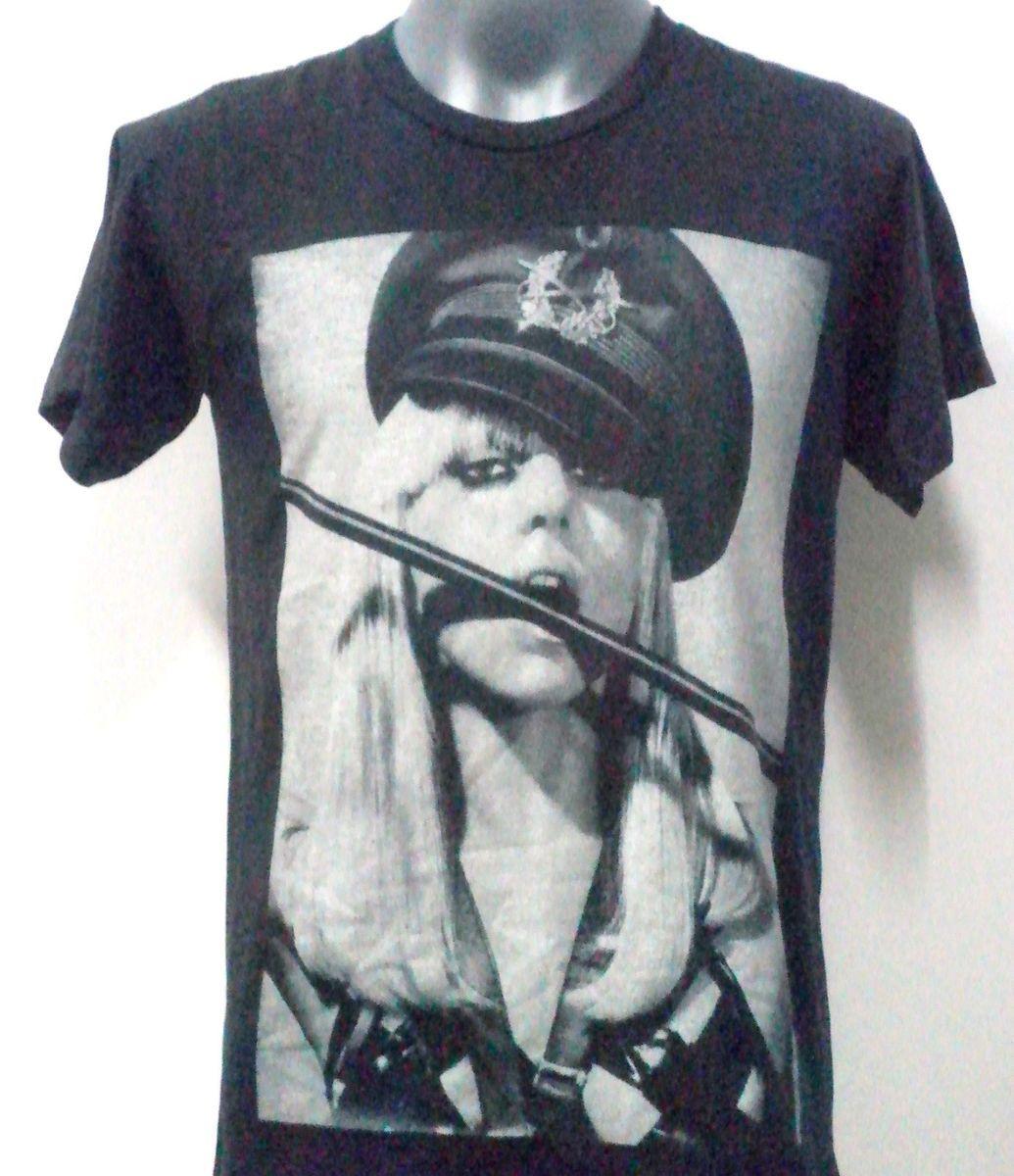 Lady Gaga Pop Rock T Shirt Black Size M