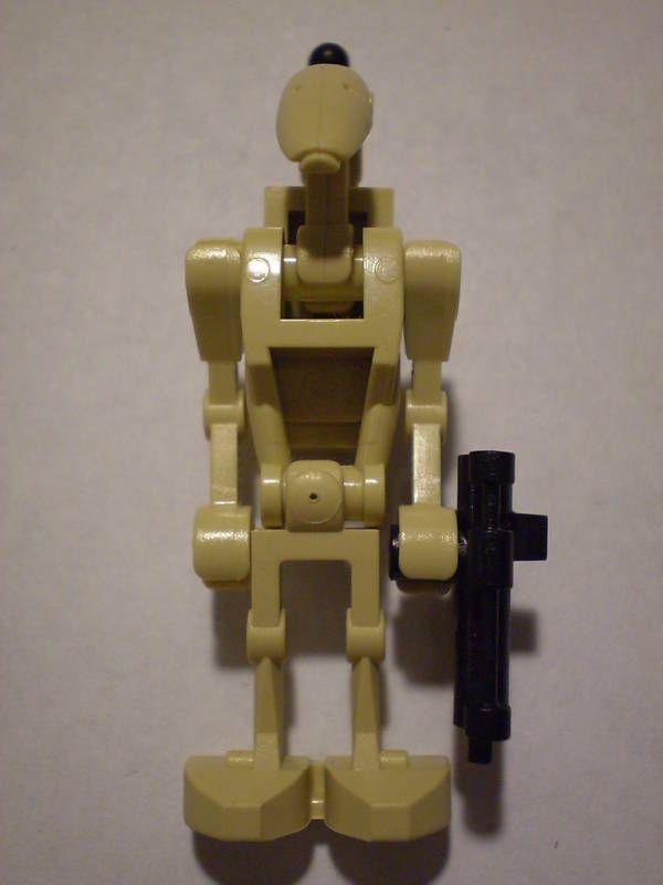 Lego Star Wars Custom Battle Droid Minifig