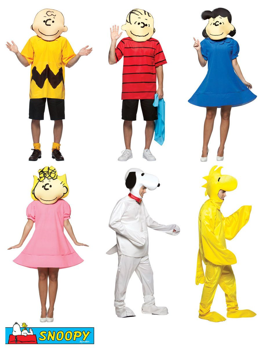 snoopy woodstock charlie linus lucy sally fancy dress costume