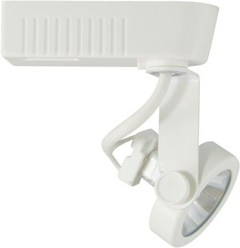 White Gimbal Low Voltage Track Light Fixture Lighting