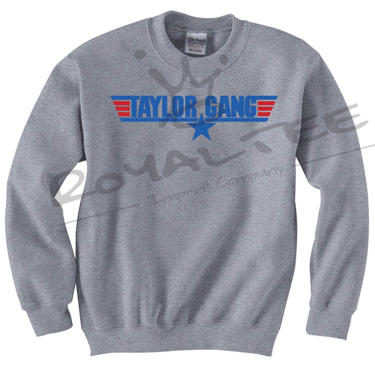 Taylor Gang Wiz Khalifa Crewneck Sweater Top 420 Rap Hip Hop Dubstep
