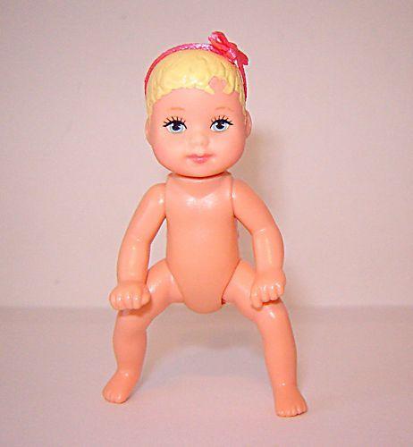 Mattel Barbies Family Baby Krissy Doll for Dollhouse
