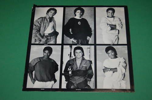 Jackson 5 Victory Michael Jackson Record LP Vinyl 1984
