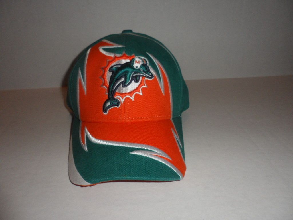 Miami Dolphins Reebok NFL Officially Licensed Logo Hat