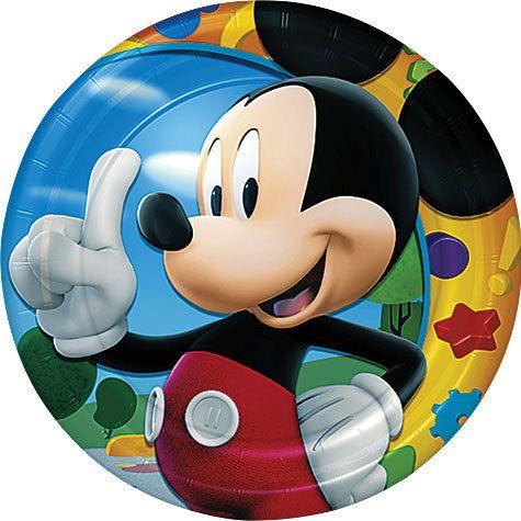 Disney Mickey Mouse Birthday Party Supplies Cake Plates