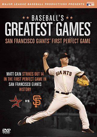 MLB Baseballs Greatest Games   San Francisco Giants First Perfect