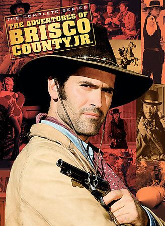 Adventures of Brisco County Jr.   The Complete Series DVD, 8 Disc Set
