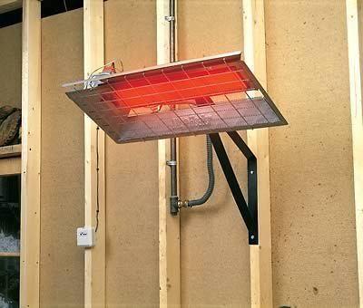 Mr. Heater Heater Radiant Gas Garage/Shop 25000 BTU/hr. Includes