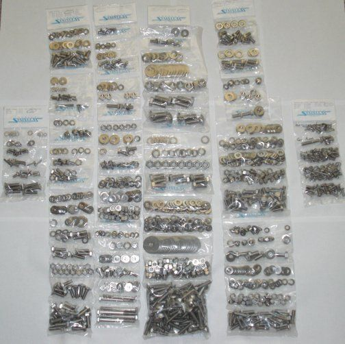1967   1972 Chevy Truck Body & Bed Bolt Kit S/S