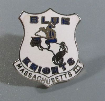 Blue Knights Motorcycle Club Pin   Massachusetts III