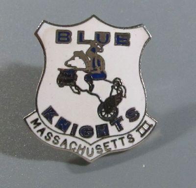 Blue Knights Motorcycle Club Pin   Massachusetts III