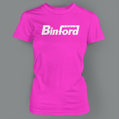 BINFORD TOOLS HOME IMPROVEMENT TIME VINTAGE 80S RETRO FUNNY Ladies T